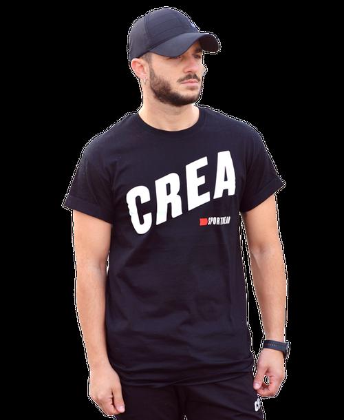 【CREA】ロゴTシャツ【ブラック】【新作】イタリアンウェア【送料無料】《M&W》