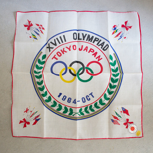 TOKYO1964 オリンピック ハンカチ