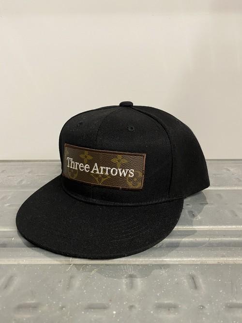 【Expensive】ThreeArrows BOX LOGO CAP (LV)