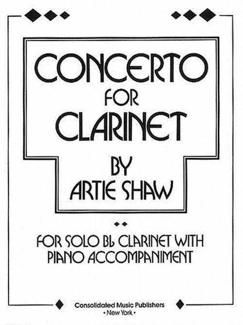 アーティ・ショウ:クラリネット協奏曲/クラリネット・ピアノ