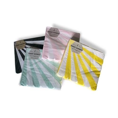 meri meri - paper napkin / ペーパーナプキン ( STRIPE ) 20枚入り