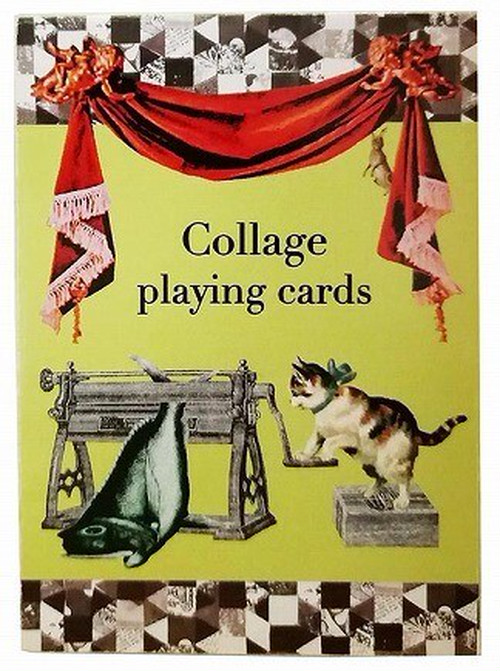 Collage playing cards/山本佳世