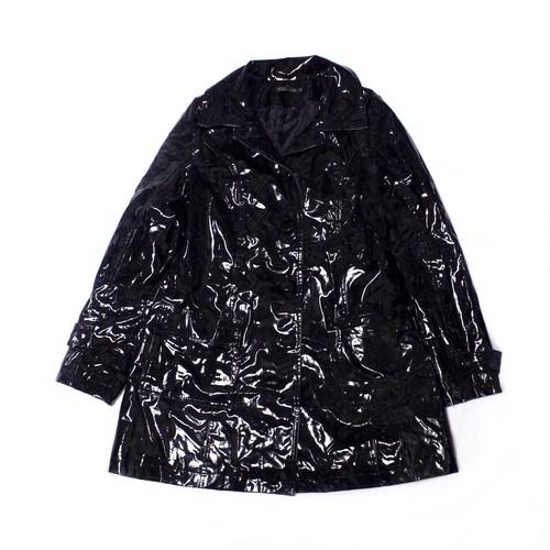 Black enamel coat