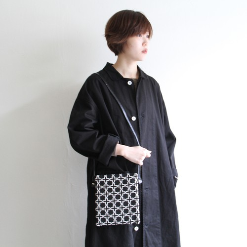 Dr.S【 womens 】side flat fabric bag
