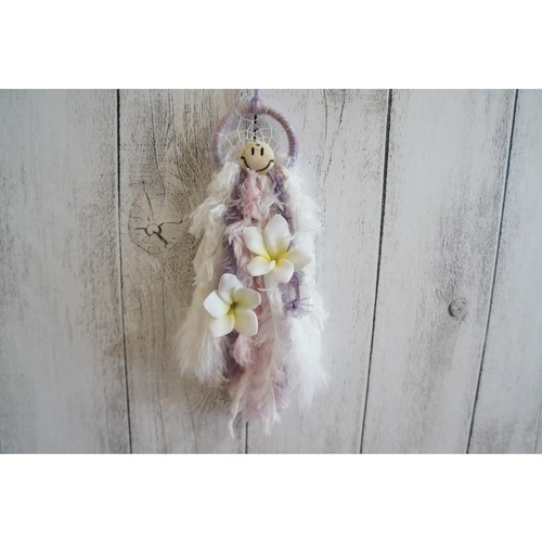 Mini Dreamcatcher Plumeria