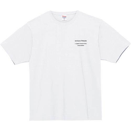 Tシャツ(We Love Potato② - 白)
