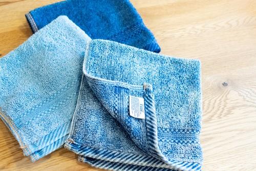 FADE DENIM -Towel Handkerchief-