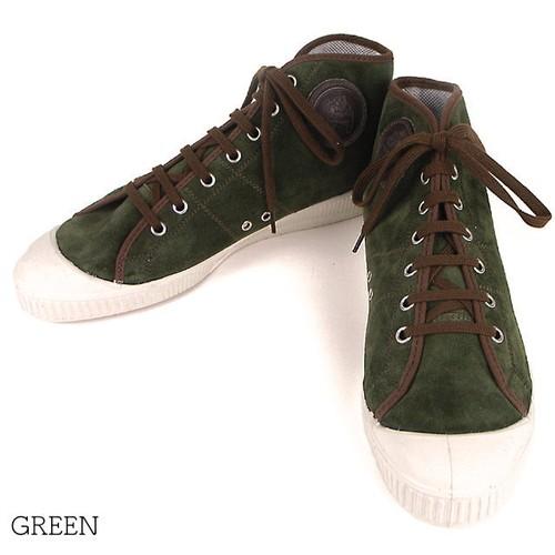 【OR GLORY】 CEBO セボ チェコスロバキア スニーカー 〈Green〉