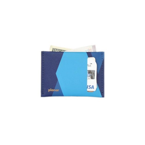 planar Card Case S -Blue Tones-