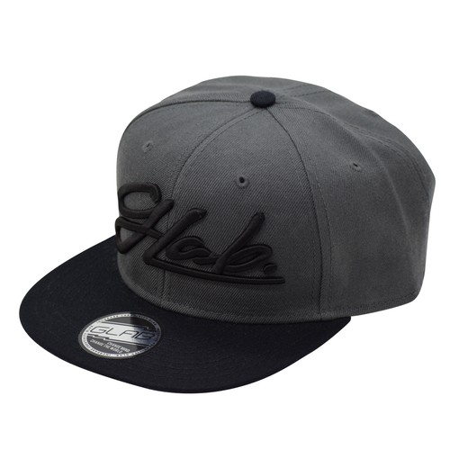 Flat visor Cap / Black&Gray