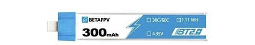 BETAFPV BT2.0 300mAh 30C 3.8V Tinywhoop Battery