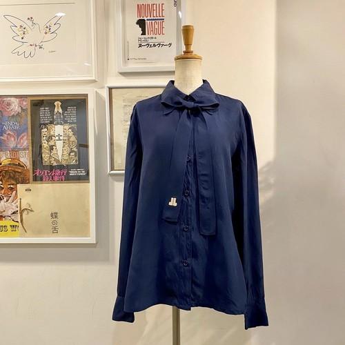 old LANVIN silk blouse