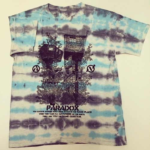 In deep forest T-shirts (D.Y.E) black print