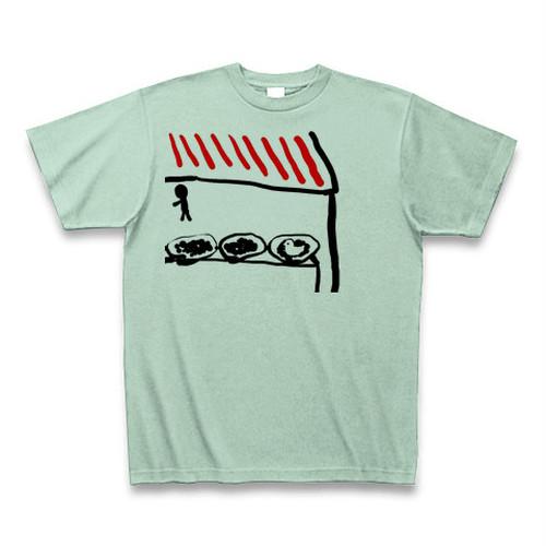 ドーブTシャツ(ビーンズアイスグリーン)