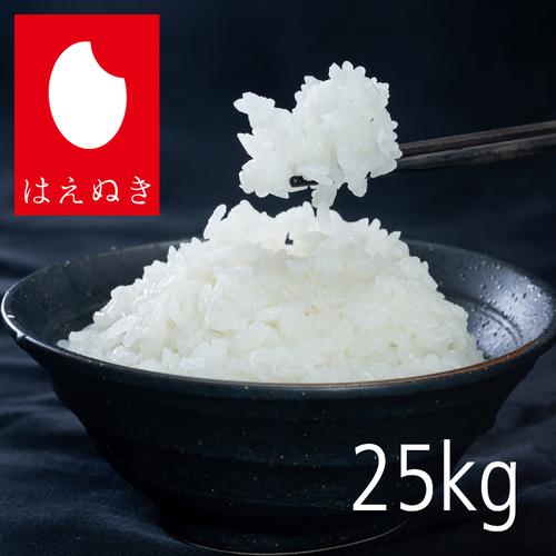 はえぬき25kg 精米
