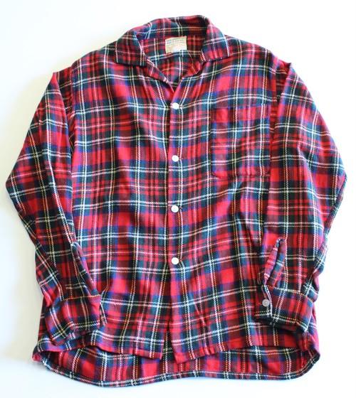 1950's〜1960's Vintage Wool shirt