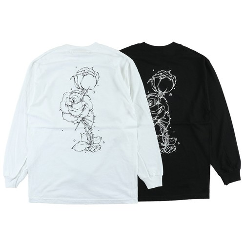 One Family Co. / Long Sleeve T-Shirt / Rose Flower