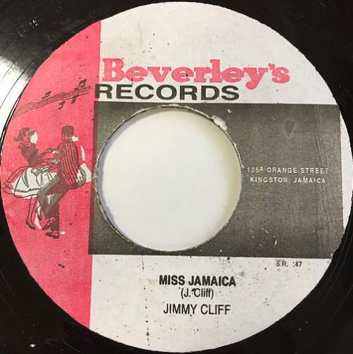 Jimmy Cliff(ジミークリフ) - Miss Jamaica【7'】