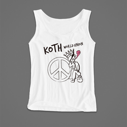 Peaceful Tank / XS-L / White,Black