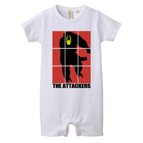 [ロンパース]THE Attackers Red