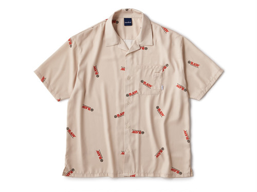RAW × INTERBREED|Logo Textile Shirts