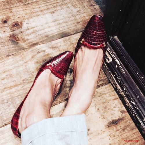 ビンテージ Dior パンプス