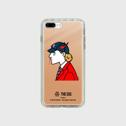 iPhonePlus用 ミラーケース(ピンク ) Angus
