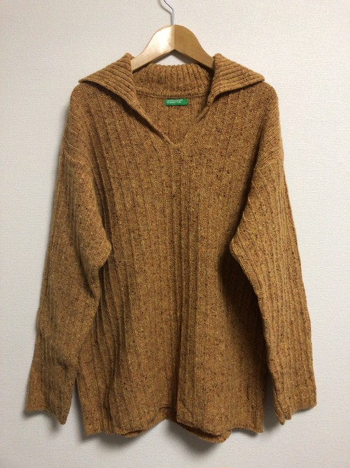 2000's Benetton bohemian sweater