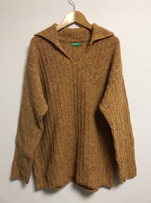 2000's Benetton bohemian sweater