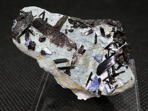 ベニトアイト ネプチュナイト ベニト石  カリフォルニア産  17g BN045 鉱物 天然石 パワーストーン