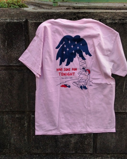 """""""HAVE SOME FUN TONIGHT"""" T-shirts PINK"""