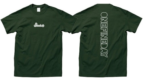 【先行受注生産】newロゴTシャツ (グリーン)