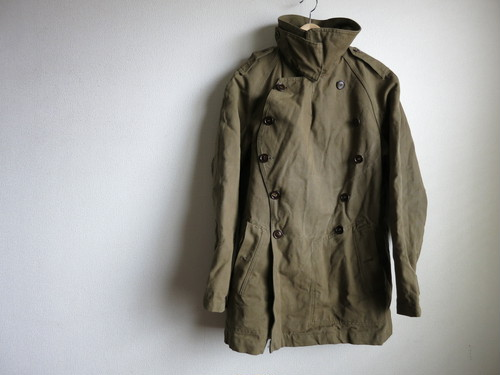 1960's French Army Motorcycle Jacket