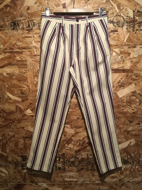 wide stripe 2tack chinos