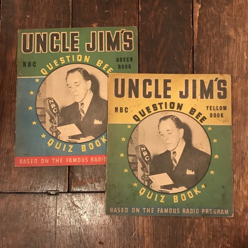 UNCLE JIM'S QUESTION BEE 2冊セット