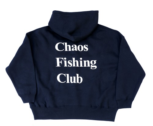 Chaos Fishing Club OG LOGO HOODIE BLACK