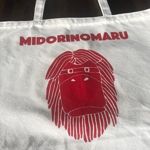 ダンシングミドリマン Tote-bag