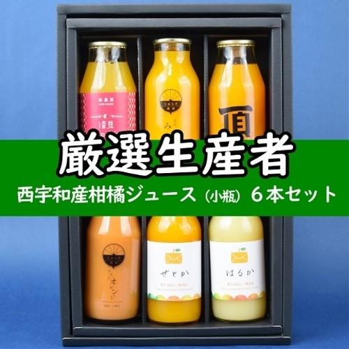 西宇和産柑橘ジュース (小瓶)6本セット