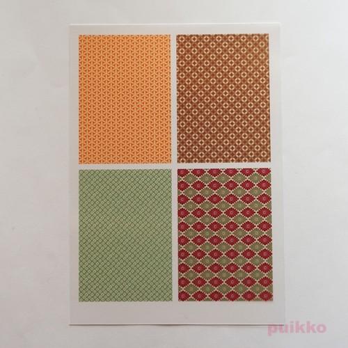 和柄パターン2 レジン封入用フィルム