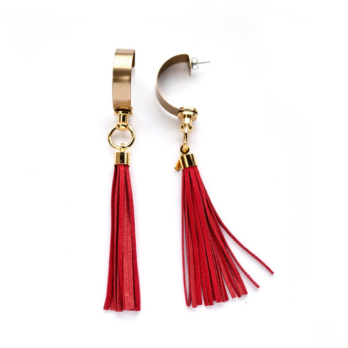 WILL EARRING/RED