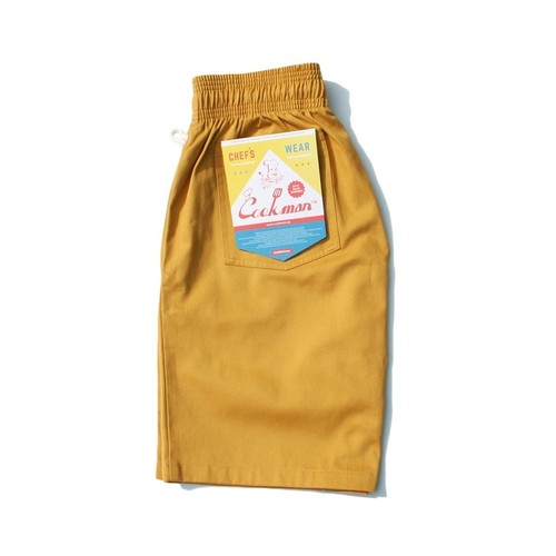COOKMAN CHEF SHORT PANTS「MUSTARD」/ MUSTARD