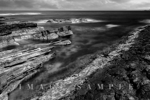 モノクロの島根半島