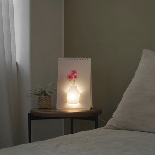 page by page led room light floral / アート フラワールームライト 照明 韓国雑貨