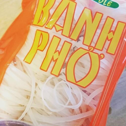 フォー乾麺 ポーション  4mm   phở  เส้นเวียดนาม 400g