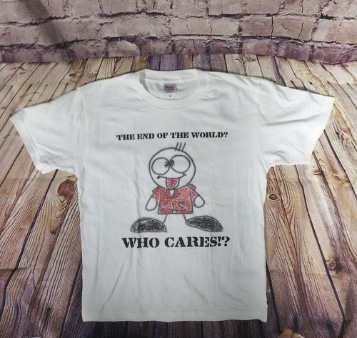 WHO CARES パンくんTシャツ(ホワイト)