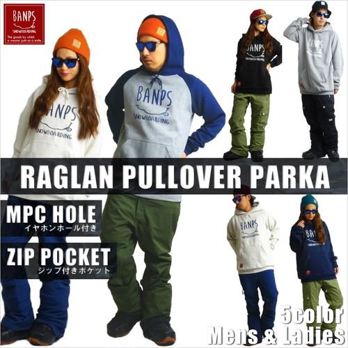 RAGLAN PULLOVER PARKA SMILE bp-56