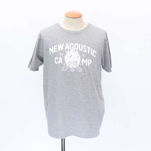 NAC18 BONFIRE tee / GRAY