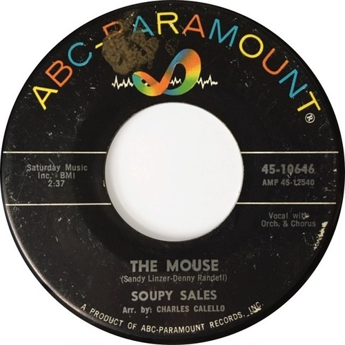 Soupy Sales ‎– The Mouse / Pachalafaka