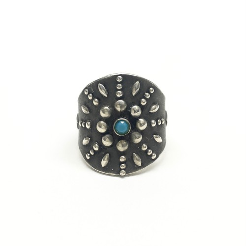 amp japan/Radial Studs Ring -Brass-