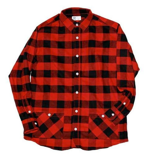 Pocket Block Check Shirt